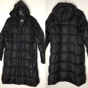 The North Face Down Puffer Long Coat XXL